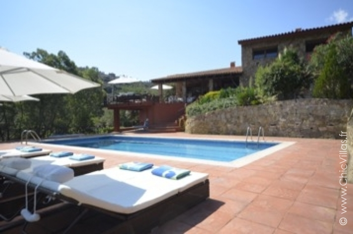 Les Hauts de Sa Riera - Luxury villa rental - Catalonia (Sp.) - ChicVillas - 17