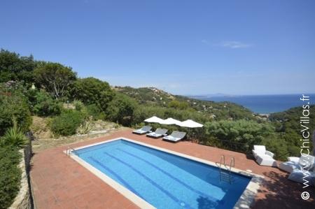 Costa Brava holiday villa Les Hauts de Sa Riera