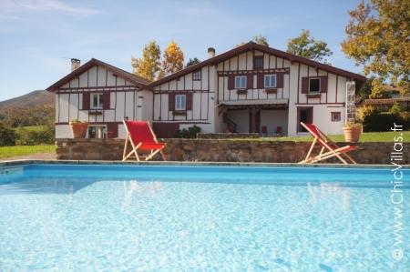 Rental villa Les Trois Basques near Saint-Jean-de-Luz