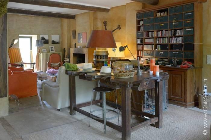 Luberon Nature - Location villa de luxe - Provence / Cote d Azur / Mediterran. - ChicVillas - 6