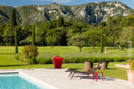 Luxury rental villa Lumière des Alpilles
