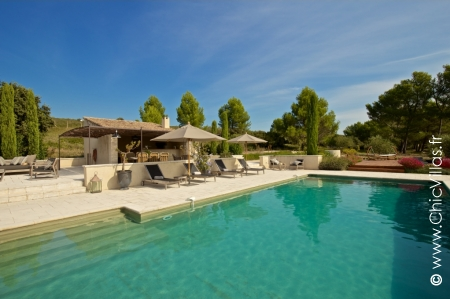 Villa for rent in Provence with pool - Luxury Alpilles
