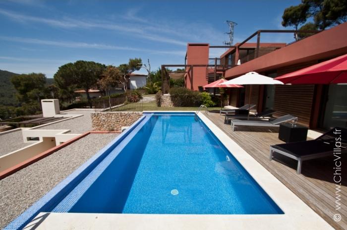 Location villa avec vue sur la baie de Tamariu