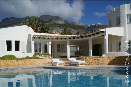 Villa de charme sur la Costa Blanca, Espagne, à louer.