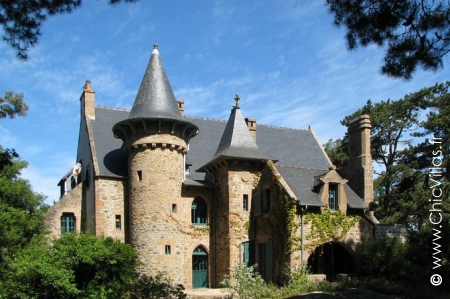 Manor house Brittany, French holiday rental, seaside  vacation home France, Men Roz