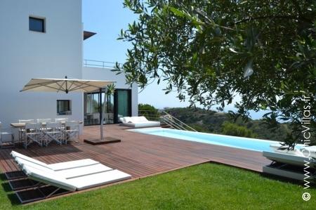 Location villa de luxe vue avec vue mer sur la Costa Brava