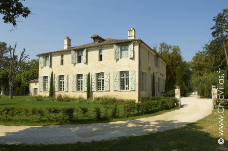 Chateau with private pool rental in France: My French Chateau