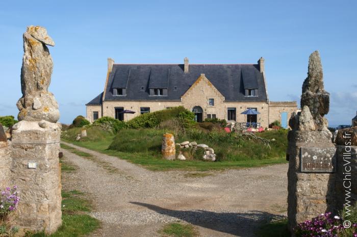 Demeure de charme front de mer et accès plage en Bretagne