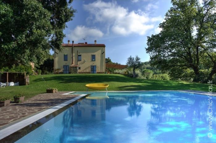 Location villa de charme traditionnelle en Toscane