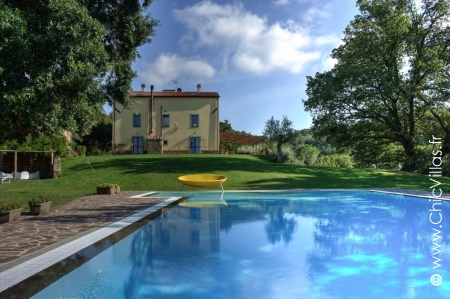 Location villa de charme traditionnelle en Toscane