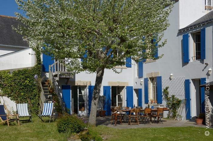 Location villa vacances à Quiberon à 50 m de la plage