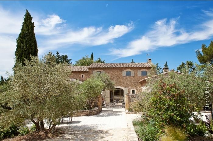 Location villa de luxe Provence ou Alpilles