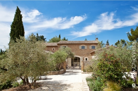 Provence ou Alpilles - Luxury villa rentals with stunning views in Provence and the Cote d'Azur  | ChicVillas