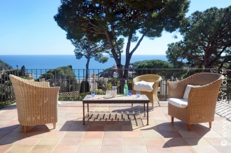 Holiday rental villa Pueblo y Playas with sea view
