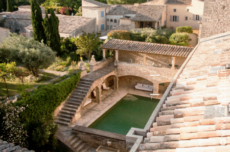 Chateau rental in Provence near pont du Gard
