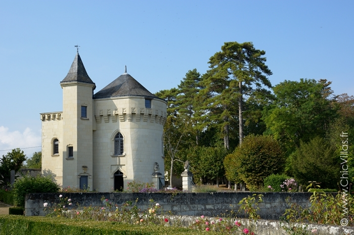 Château de prestige à louer en vallée de Loire