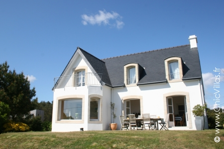 Rent charming villa France, seaview