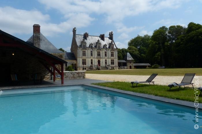 Location de château du 18e entre Nantes et La Baule