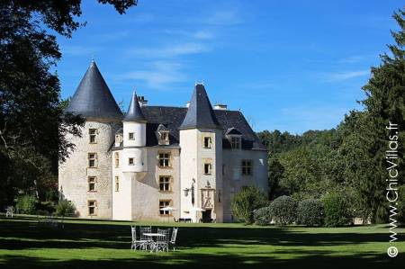 16th-century castle for rent in South West France