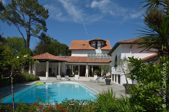 Location villa de luxe près de Biarritz et des plages