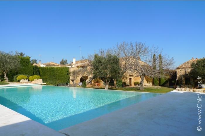 Location villa de luxe en Catalogne avec vaste jardin