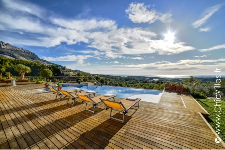 Rent seaview villa pool Costa Blanca Altea Spain