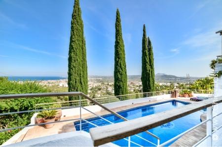 Sunshine luxury villa rental in Javea, Costa Blanca Spain