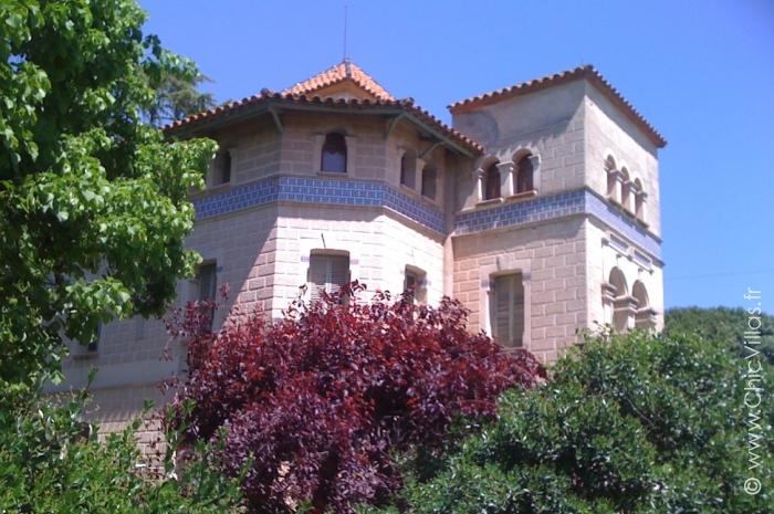 Location ancienne demeure bourgeoise en Catalogne