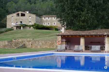 Catalonia Large luxury property rental, pool, sauna