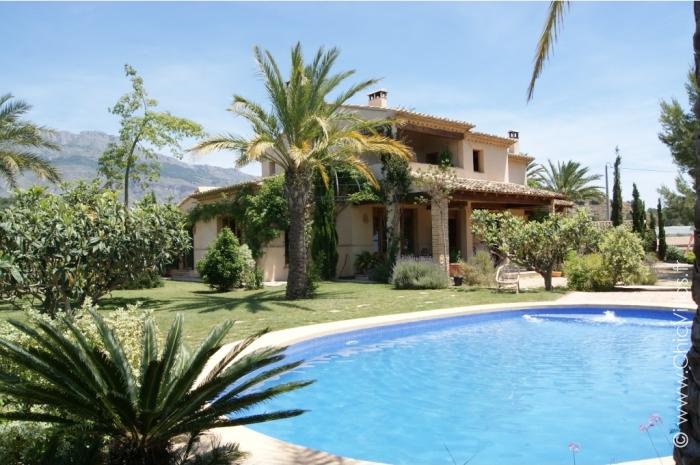 Location villa vacances authentique avec piscine, Costa Blanca