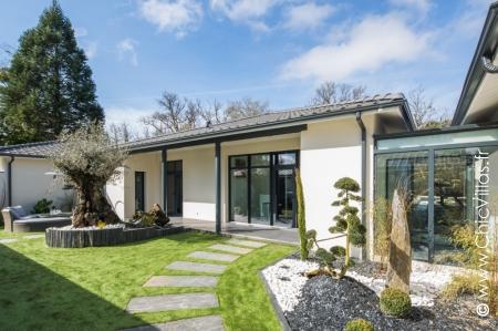 Louer villa de luxe proche de Bordeaux avec piscine chauffée
